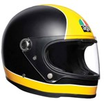 AGV HELMET X3000 SUPER AGV MATT BLACK/YELLOW