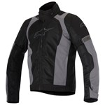(CLEARANCE) Alpinestars Amok Textile Jacket - Black/Grey