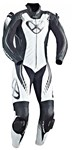 Ixon Starbust 1-Piece PERFORATED Leather Suit (Black/White/Silver)