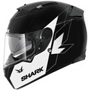(CLEARANCE SALE) - Shark Speed-R Ike Helmet - White Black (XS Only)
