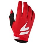 2018 YOUTH SHIFT WHIT3 LABEL NINETY SEVEN MX GLOVE - BLACK/RED