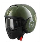 (SHARK CLEARANCE) - Shark Raw Trinity Helmet - Green