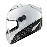 (SHARK CLEARANCE) - Shark Race-R Pro Carbon Racing Helmet - Blank White