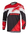 (CLEARANCE SALE) - Alpinestars 2016 RACER SUPERMATIC JERSEY - RED/WHITE
