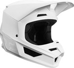 FOX 2019 ECE V1 HELMET MATT - WHITE