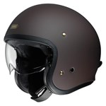 Shoei J.O Helmet - Solid Matt Brown