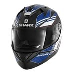 SHARK RIDILL HELMET - TIKA MATTE BLACK/BLUE/WHITE