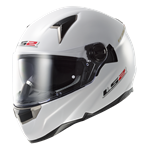 (CLEARANCE SALE) - LS2 FT2 FF3966 DART Helmet - Solid White