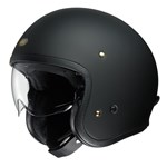 Shoei J.O Helmet - Solid Matt Black