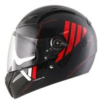 (CLEARANCE SALE) Shark Vision-R Series 2 Cartney Helmet - Black/Red