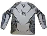 (CLEARANCE MSR) - MSR RENEGADE Axxis Men's MX Jersey - Black White Angular