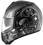 Shark Evoline Series 3 Mezcal ECE Helmet - Chrome Black