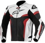 Alpinestars Celer Leather Jacket - Black/White/Red