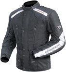(CLEARANCE SALE) - DriRider Apex 2 Textile Jacket - Black/White