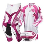 MSR Starlet Ladies Pant, Jersey and Glove Combo - Pink