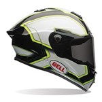 (CLEARANCE SALE) - Bell Star ECE Helmet - Pace Black/White