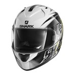 SHARK RIDILL HELMET - FINKS WHITE/BLACK/YELLOW