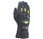 Ixon Pro Ice HP Leather Gloves - Black/Yellow