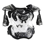 FOX 2018 R3 ROOST DEFLECTOR - BLACK (SIZE LARGE)