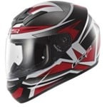 (CLEARANCE SALE) - LS2 FF350 Action Helmet - Gamma Black Red