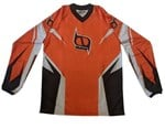 (CLEARANCE MSR) - MSR M9 Axxis Men's MX Jersey - Orange