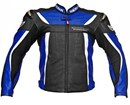 (CLEARANCE SALE) - BERIK SWITCH LEATHER JACKET BLUE