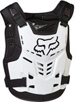 FOX 2017 PROFRAME LC CHEST PROTECTOR - WHITE