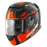 (CLEARANCE SALE) - Shark Speed-R Helmet - Duke Black/Orange