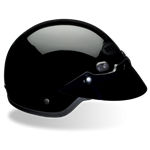 Bell Shorty Helmet - Gloss Black