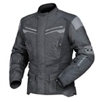 (CLEARANCE) DRIRIDER APEX 4 WATERPROOF TEXTILE JACKET - BLACK/GREY