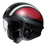 Shoei J.O Hawker TC-1 Helmet - Red/Black