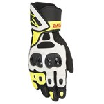 ALPINESTARS SP AIR GLOVES - BLACK / WHITE / FLURO