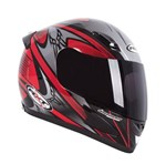 RXT A705 SABRE HELMET - BLACK/RED