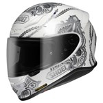 Shoei NXR Duchess White Helmet