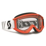 SCOTT RECOIL Xi GOGGLE - Black/Fluro Orange with Silver Lens