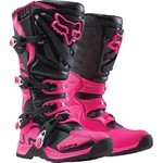 Fox 2017 Youth Comp 5 Boots - Black / Pink