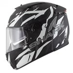 (SHARK CLEARANCE) - Shark Speed-R Series 2 Fighta Helmet - Matte Black/Silver