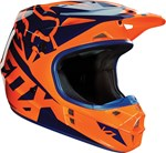 FOX 2016 V1 RACE HELMET - ORANGE/BLUE