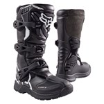 (CLEARANCE) FOX COMP 3 YOUTH MX BOOT - BLACK