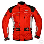 (CLEARANCE) HARDT POLAR TEXTILE JACKET RED