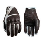 Five Ladies Sport City Gloves - Brown/White
