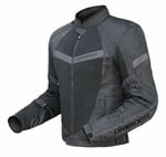 (CLEARANCE SALE) - DriRider Air Ride 2 Womens Textile Jacket - Black Grey