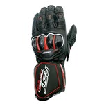 RST Tractech EVO CE Waterproof Leather Gloves - Black