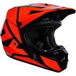 (CLEARANCE) FOX 2017 V1 RACE ECE YOUTH HELMET - ORANGE
