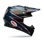 (CLEARANCE) Bell Moto-9 Helmet - Airtrix Shards Black