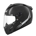 Shark Race-R Pro Carbon Skin ECE Helmet - Blank Gloss Black