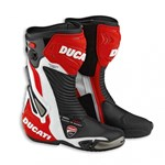 Ducati CORSE 2 LEATHER BOOTS - Red/White