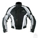 KG AIRFORCE TEXTILE JACKET BLACK/GREY Clearance Special