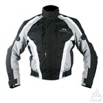 (EVERYDAY SPECIAL) - KG AIRFORCE TEXTILE JACKET BLACK/GREY Clearance Special