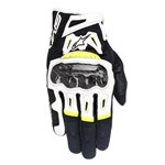Alpinestars SMX 2 Air Carbon V2 Black/FluroYel Gloves